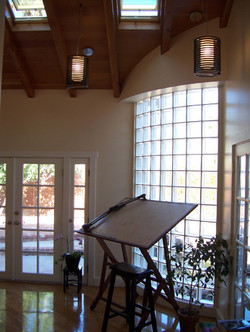 Interior curve block w drafting table