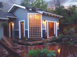 Yoga Studio and Pond