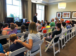 We had a great time today presenting 3D technology at the BallenIsles Country Club!
