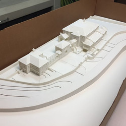Perhaps one of our most ambitious architectural scale models to date could not have been completed i