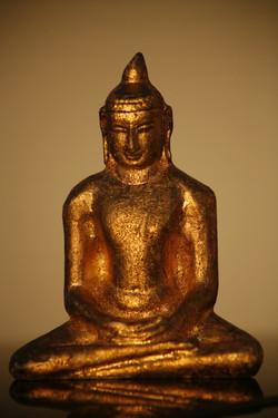 Golden Buddha 3D Print