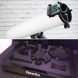 We are currently 3D printing this Astro-Cam for the _sfsciencecenter ! Just in time for the Solar Ec