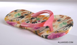 Full Color 3D Printed Flip Flop
