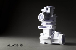 Mcor 3D printed engine
