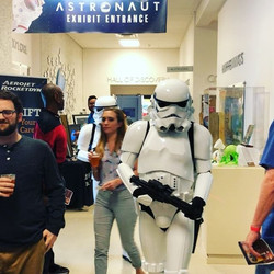 We were having a blast last night until these Guys showed up!  #nerd #sfsciencecenter #501st #allaxi