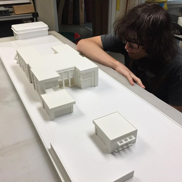 Young Jedi Luke continues to work on his first 3D printed architectural scale model.jpg.jpg