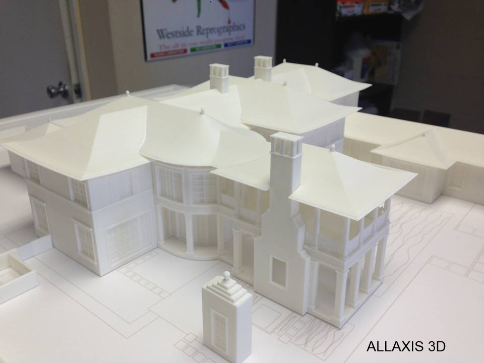 ALLAXIS 3D architectural scale model