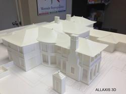 ALLAXIS 3D architectural scale model