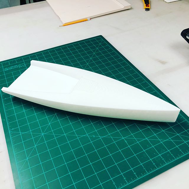 20_1 scale 3D print of new racing sailboat design