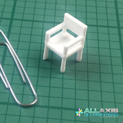 small 3D printed chair
