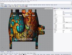 fractal hand ALLAXIS 3D