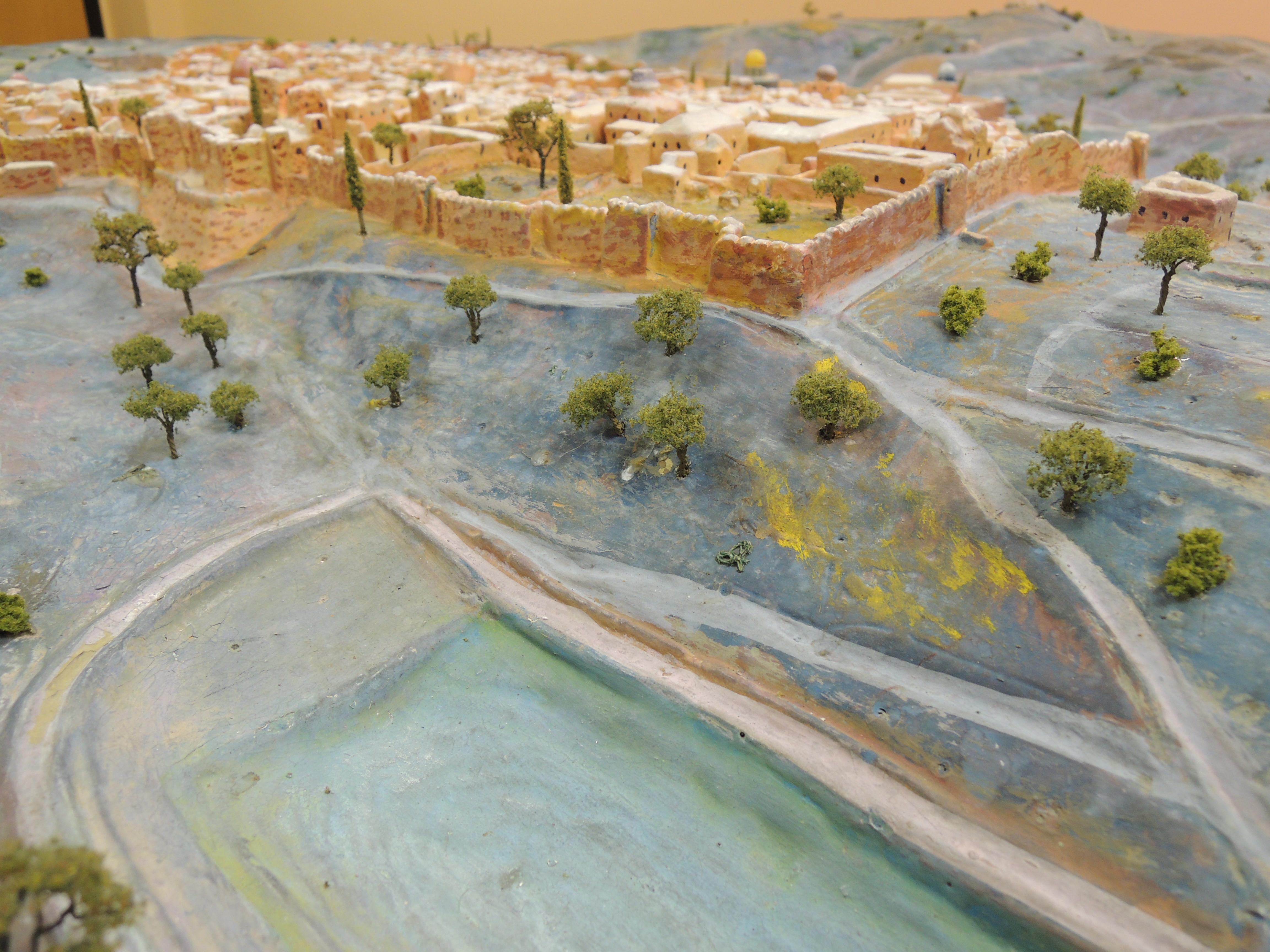 Ninteenth Century Jerusalem Model
