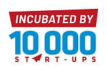 Incubated by 10000 startup logo(Propotio