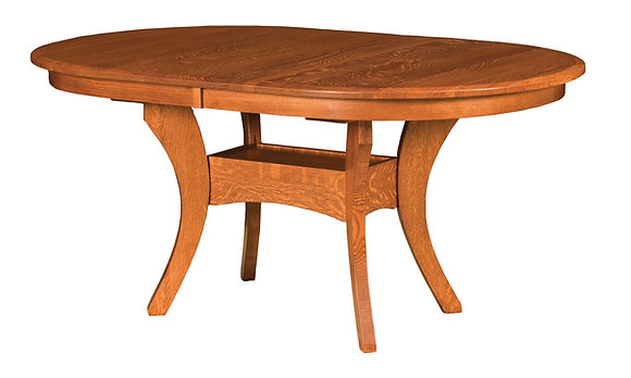 Imperial Double Pedestal Table
