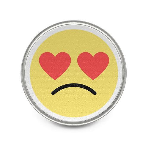 MAL Love Doesn't Hurt Metal Pin