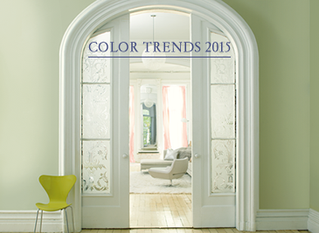 Color Trends 2015 for Your Home