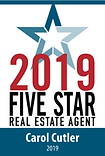 Five Star Realtor 2018 Carol Cutler.png
