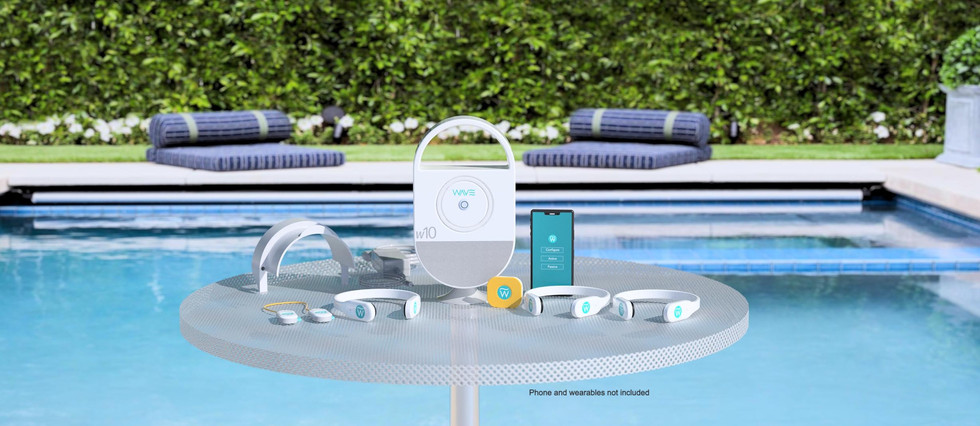 w10 fits in beautifully with any pool decor.