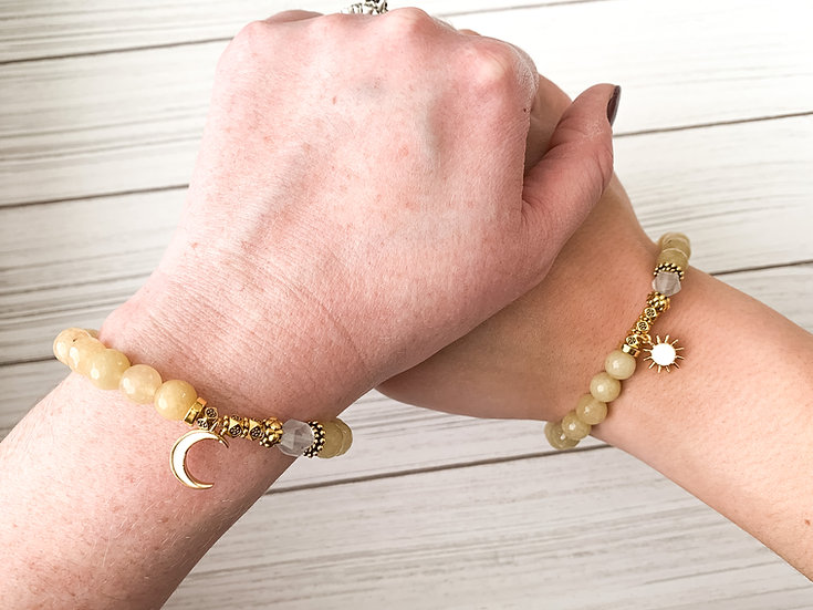 Night and Day Best Friend Bracelets