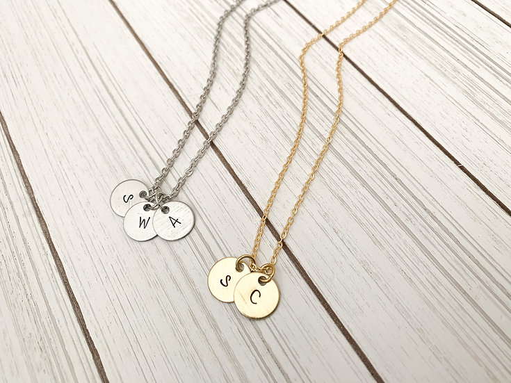 Heirloom Initial Necklace