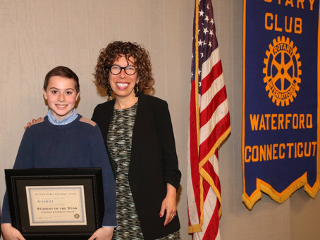 Rotary Club Student of the Year