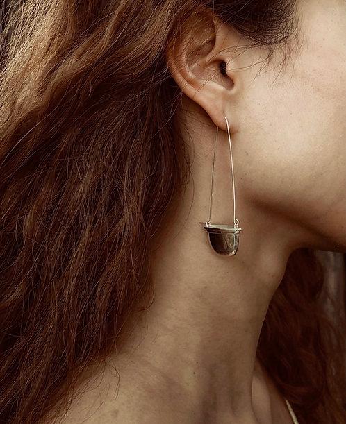 Don't Cross The Line Earrings