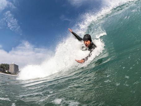 Body Surfing Japan Spring Waves