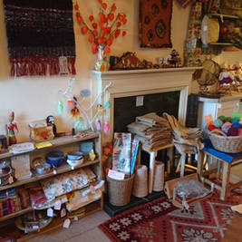 Staithes Festival, exhibiting inside Sealey Cottage