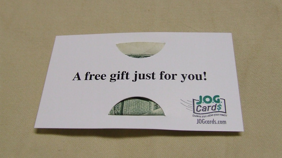 A free gift for you!