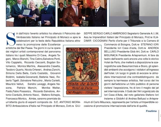 Comunicato stampa Montecarlo