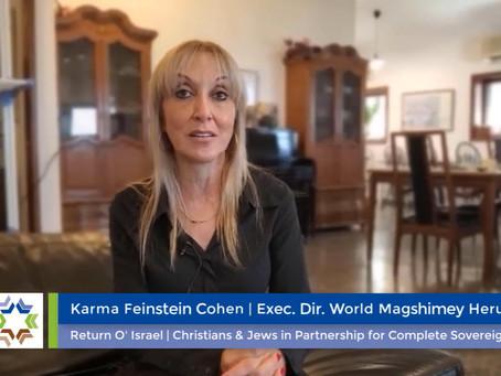 Interview: CEO of World Herut, Karma Feinstein Cohen