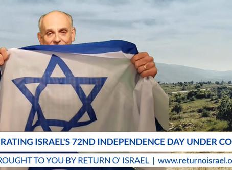 ISRAEL 72 - Celebrations Continue Despite Corona