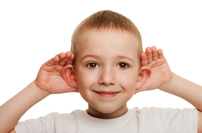 Speech issues because of Hearing Impairments