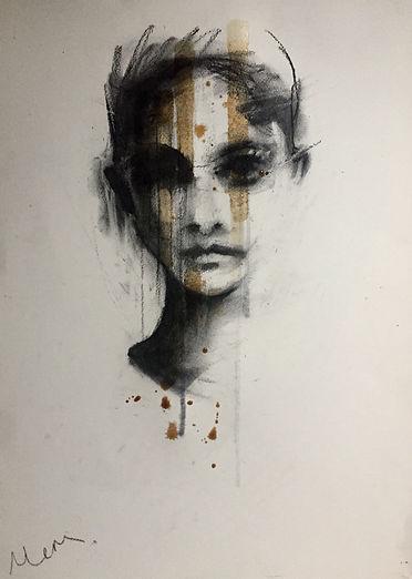 Michelle Eva May 'Trust' drawing (MEM)