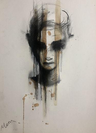 Michelle Eva May 'Trust III' drawing (MEM)