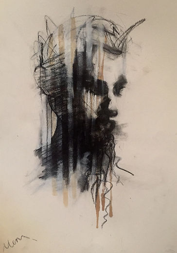 Michelle Eva May 'Guy' drawing (MEM)