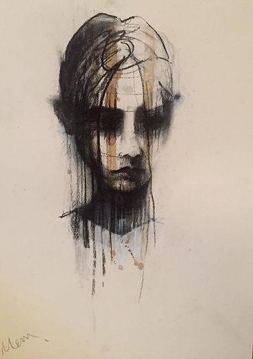 Michelle Eva May 'Trust II' drawing (MEM)