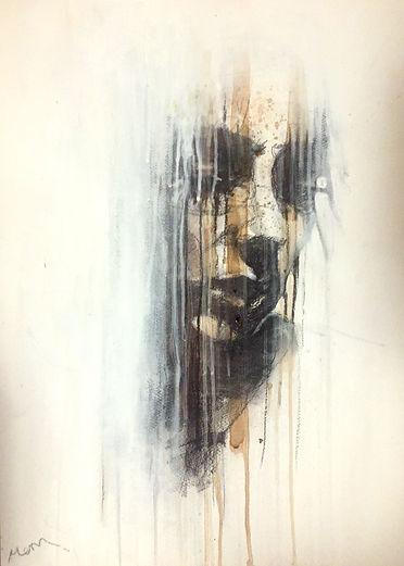 Michelle Eva May 'Silent' drawing (MEM)