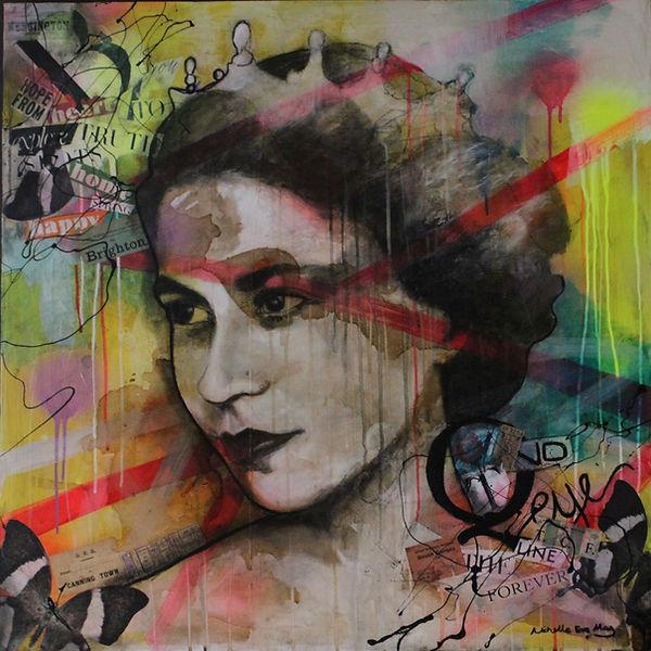 Michelle Eva May_POP ART_Queen_Painting.