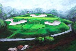 Montauk Downs Hole #12 (detail)