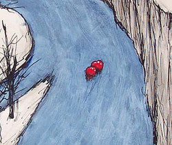 Journey of 2 Hearts (detail)