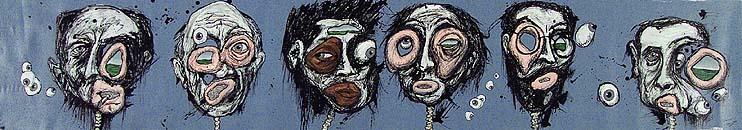 6 Artist Heads