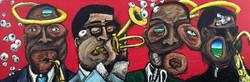 4 Jazz Heads (Parker,Diz,Trane,Krik)