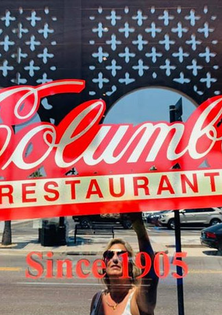AMAZING lunch at Columbia Restaurant Gro
