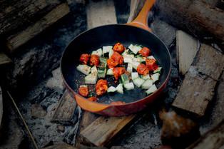 Kochen im Freien