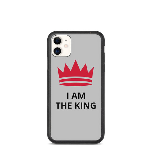 I AM THE KING iPhone case