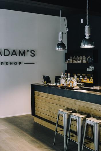 Tony Adam's barber shop