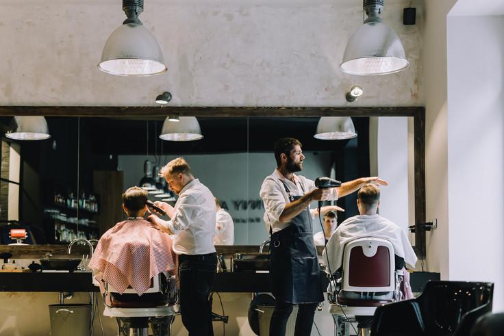 Tony Adam's barbershop