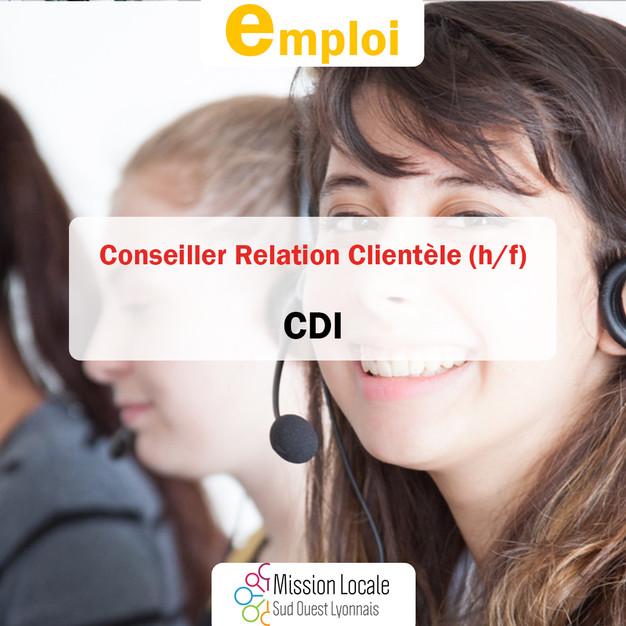 cdi  conseiller relation client u00e8le  h  f