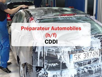 CDDI / Préparateur Automobiles 🚗 (h/f)